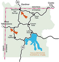 yellowstone migration routes